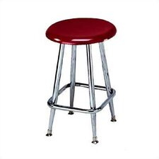 Solid Plastic Stool with Footring