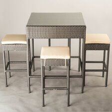 Melbourne 5 Piece Dining Set with Cushions