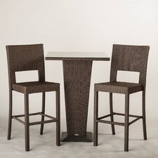 Destin 3 Piece Outdoor Dining Set