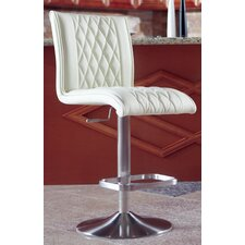 "Dyemon 20"" Adjustable Bar Stool with Cushion"