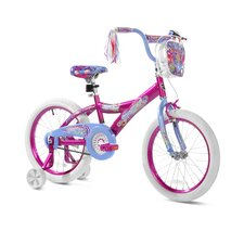 "Girl's 18"" Spoiler Cruiser Bike"