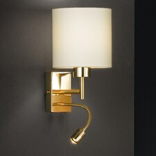 Maiz 2 Light Wall Lamp with Reading Light