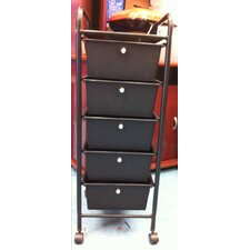 Storage Unit with 5 Drawers
