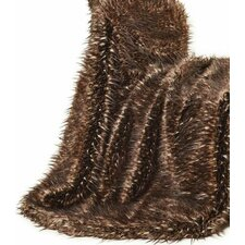 Fancy Multi Lynx Fur Throw