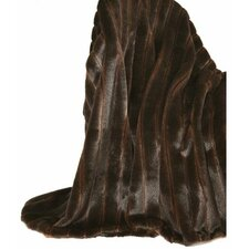 Fancy Furs Two Tone  Throw