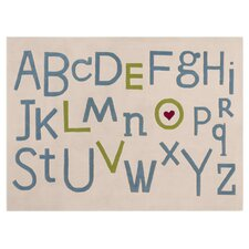Alphabet Soup Kids Rug