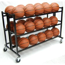 "35"" Heavy Duty Double Wide Ball Cart"