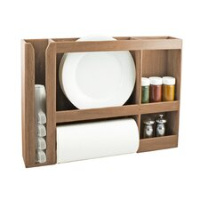 <strong>SeaTeak</strong> Dish / Cup / Spice / Towel Rack