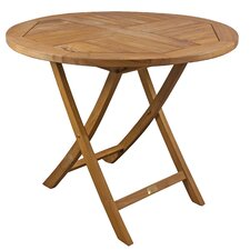 <strong>SeaTeak</strong> Sunset Folding Bistro Table