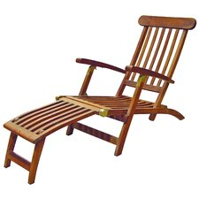 <strong>SeaTeak</strong> Britannia Folding Steamer Lounge Chair