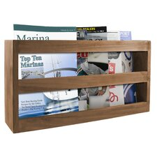 Double Wide Magazine Rack