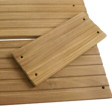 "<strong>SeaTeak</strong> Teak 8.75"" x 3.5"" Deck Step"