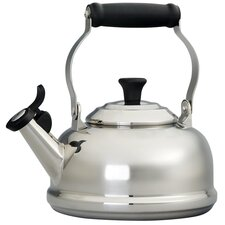 <strong>Le Creuset</strong> 1.8-qt. Stainless Steel Classic Whistling Tea Kettle