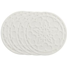 "<strong>Le Creuset</strong> 4"" French Coaster (Set of 4)"