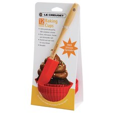 12-Piece Baking Cup Set with Spreader