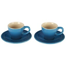 Espresso Cup and Saucer (Set of 2)