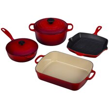 <strong>Le Creuset</strong> Signature 6-Piece Cookware Set