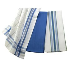 <strong>Le Creuset</strong> 3 Piece Kitchen Towel Set
