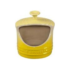 Stoneware 0.32 Qt. Salt Crock