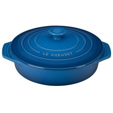 2.1-qt. Covered Stoneware Round Casserole