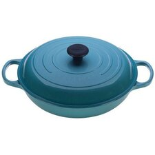<strong>Le Creuset</strong> Cast Iron Signature Braiser
