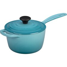 ColorCast Iron Precision Pour Saucepan with Lid