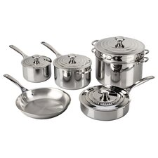 Stainless Steel 10 Piece Cookware Set II