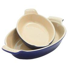 Heritage 2-Piece Au Gratin Dish Set