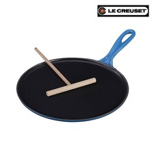 "Le Creuset Cast Iron 10.75"" Crepe Pan"