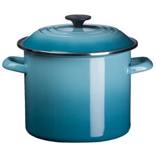 Enamel On Steel 12-qt. Stockpot with Lid