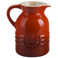 Stoneware 8 oz. Syrup Jar