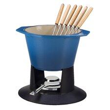 Cast Iron Traditional Fondue Set