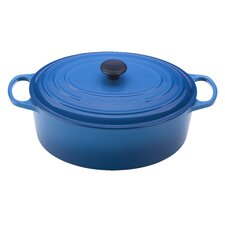 Signature 15.5-Qt. Cast Iron Round Goose Pot
