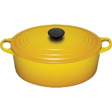 Enameled Cast Iron 6 3/4-Qt. Oval Dutch Oven