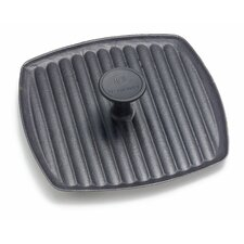 "Enameled Cast Iron 9"" Panini Pan"