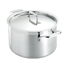 Stainless Steel 6 1/4-Qt. Soup Pot