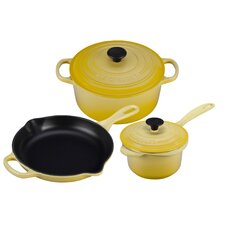 Cast Iron 5-Piece Cookware Set