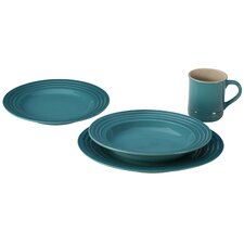 Stoneware 4 Piece Place Setting