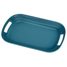 Stoneware Rectangular Serving Tray
