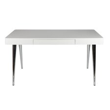 Metro Writing Desk with Chrome Leg