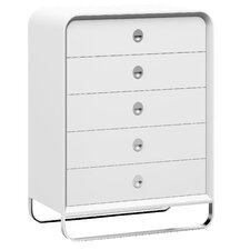 Liquido 5 Drawer Chest