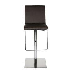 Gia Adjustable Height Bar Stool with Cushion