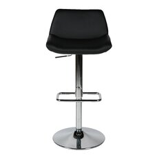 Maya Adjustable Height Bar Stool with Cushion