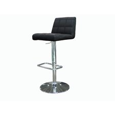 Karen Adjustable Height Bar Stool with Cushion