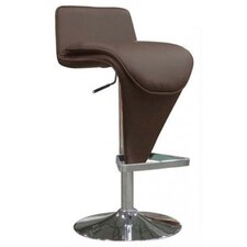 Hudson Adjustable Height Bar Stool with Cushion
