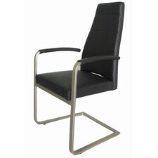 <strong>Whiteline Imports</strong> Ville Dining Armchair (Set of 2)