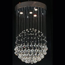Bowl Crystal Pendant Lamp