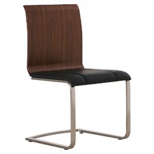 <strong>Whiteline Imports</strong> Lizz Dining Chair (Set of 2)