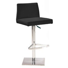 Medusa Adjustable Height Bar Stool with Cushion