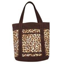 Congo Leopard Tote Bag